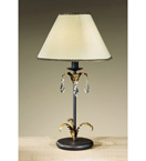 Barocco Collection Table Lamp with Braided Shade