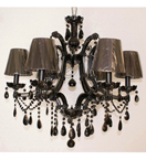 Duchess Single Tier Crystal Chandelier