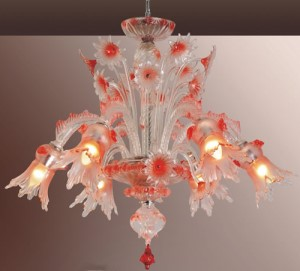 Murano Style Chandeliers